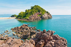 Beauty island in Thailand Royalty Free Stock Images