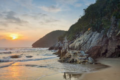 Beauty Island on twilight time Royalty Free Stock Photography