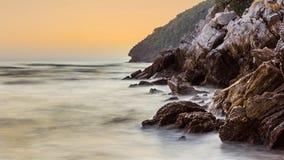 Beauty Island on twilight time Stock Photo