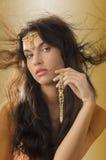 Beauty jewel stock photography
