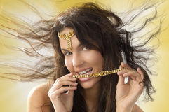 Beauty jewel Stock Images