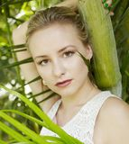 Beauty in jungle Royalty Free Stock Photo