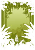 Beauty jungle silhouette Stock Photography