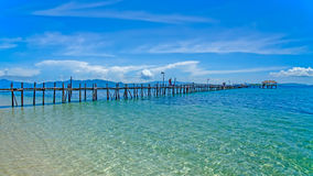 Beauty of Kanawa Island Royalty Free Stock Image