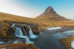Beauty of Kirkjufell mountain  Iceland Stock Image