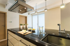 Beauty kitchen interior Stock Photography