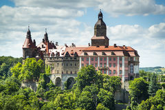Beauty of Ksiaz Castle. Poland Royalty Free Stock Images