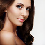 Beauty lady portrait. Beautiful young woman Royalty Free Stock Photo