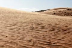 Beauty of Landscape desert, Red Sand Dune Mui Ne in Vietnam Royalty Free Stock Photos
