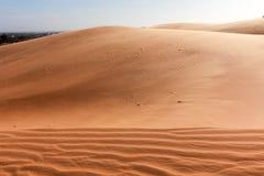Beauty of Landscape desert, Red Sand Dune Mui Ne in Vietnam Stock Photos