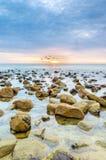 Beauty landscape with sunrise Stock Photography