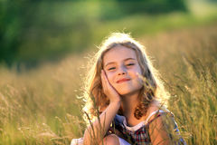 Beauty litte girl Royalty Free Stock Images