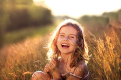 Beauty litte girl Royalty Free Stock Photography