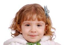 Beauty little girl portrait Stock Images