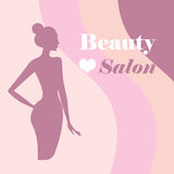 Beauty logo template Royalty Free Stock Photography