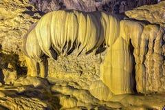 Beauty of lotus reverse limestone cave Stock Photo