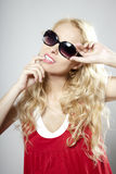Beauty luxury woman in sunglasses Royalty Free Stock Images