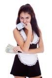 Beauty maid Royalty Free Stock Photography