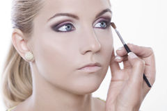 Beauty make-up Royalty Free Stock Images