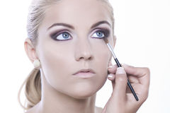 Beauty make-up stock photography
