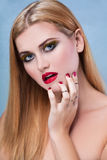 Beauty make-up Royalty Free Stock Image