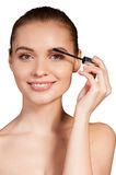 Beauty make-up. Royalty Free Stock Image