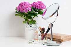 Beauty and make-up concept Royalty Free Stock Photos