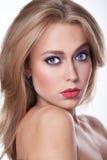 Beauty Make Up Cosmetics woman portrait. Royalty Free Stock Photos