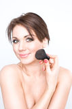 Beauty make-up girl Royalty Free Stock Images