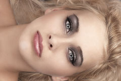 Beauty make up portrait Royalty Free Stock Images