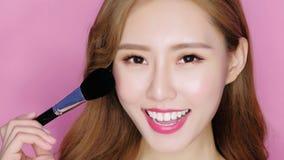 Beauty make up woman royalty free stock photography