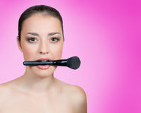 Beauty makeover Stock Photo