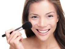 Beauty makeup asian woman Stock Photo