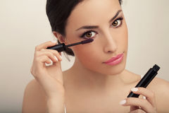 Beauty and makeup royalty free stock image