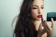 Beauty and makeup Royalty Free Stock Photo