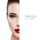 Beauty and Makeup concept stock photo
