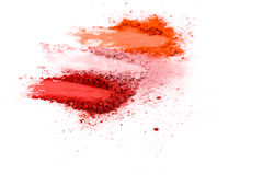 Beauty, makeup cosmetics, blush splash palette Stock Photography