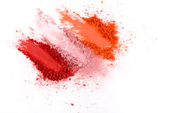 Beauty, makeup cosmetics, blush splash palette Stock Image