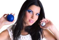 Beauty makeup girl Stock Image