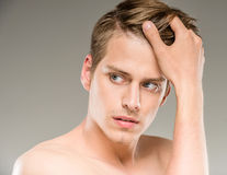 Beauty man Royalty Free Stock Images