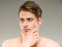 Beauty man Stock Photo