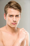 Beauty man Stock Photography