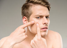 Beauty man royalty free stock photography