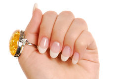 Beauty manicure... Stock Photos