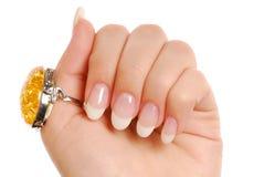 Beauty manicure... Stock Photos