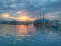 the beauty of marmaris Royalty Free Stock Photo