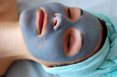 Beauty mask #10 Stock Photo