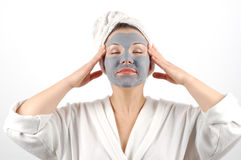 Beauty mask #12 Stock Image