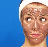 Beauty mask. Royalty Free Stock Image