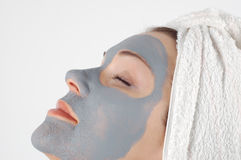 Beauty mask #17 Royalty Free Stock Photography